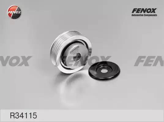 Ролик натяжной, FENOX, R34115