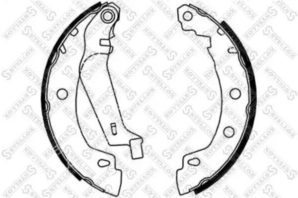 731 100-SX [S113502170] колодки барабанные Chery Amulet/QQ/Tiggo all 06