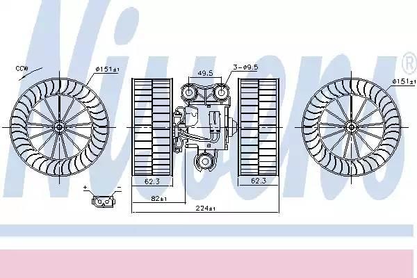 Мотор печки MERCEDES VITO W639   03-