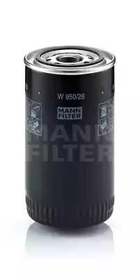 Фильтр масляный, MANN, W95026