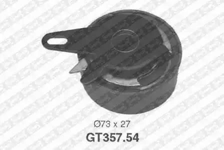 Ролик натяжной ремня ГРМ, SNR, GT35754