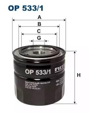 Фильтр масляный 2,3/3,0 V6