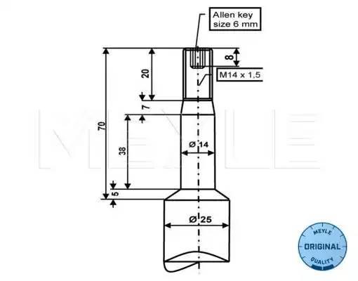 Амортизатор передний GAS