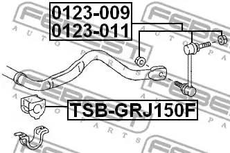 4881560310/ TSBGRJ150F Вт/стабилизатора пер Febest