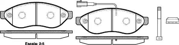 колодки тормозные передние R15