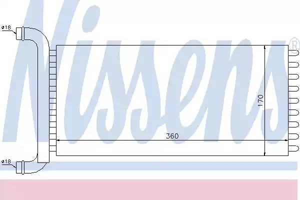 Радиатор печки MERCEDES SPRINTER W 906 (06-) 209 CDI (+)