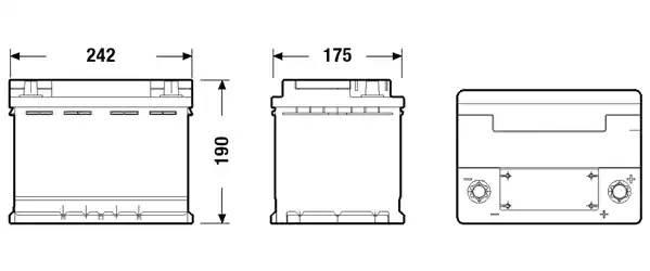 Exide Start-Stop AGM EK600