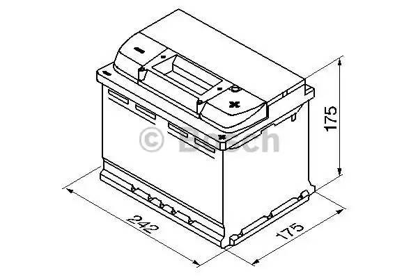 """Батарея аккумуляторная """"S5 Silver Plus"""", 12в 61а/ч - 61"""