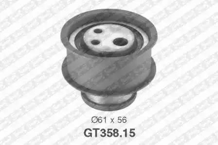 Ролик натяжной ремня ГРМ, SNR, GT35815