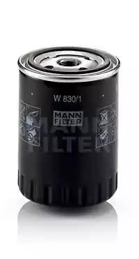 Фильтр масляный, MANN, W8301