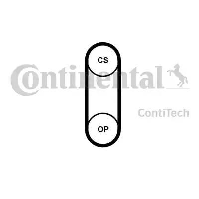 Ремень ГРМ (раб.в масле) Contitech