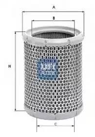 Фильтр воздушный, UFI, 2725300