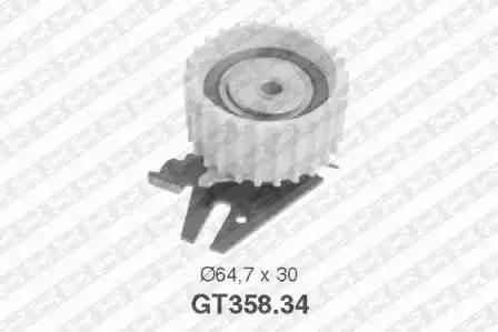 Ролик натяжной ремня ГРМ, SNR, GT35834