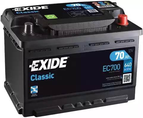 Exide Classic EC700