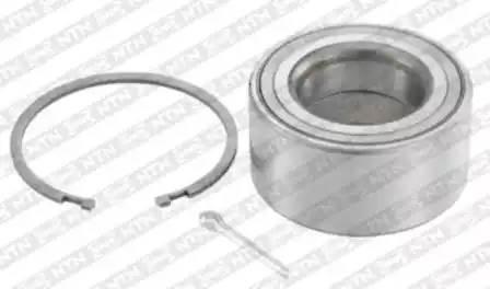 R168.63 VKBA3272 [402104M400] комплект подшипника ступ. пер. Nissan Almera All 00