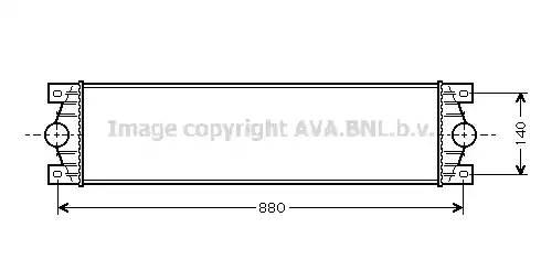 Интеркулер, AVA, RTA4359