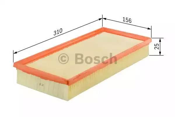 Фильтр воздушный, BOSCH, F026400152