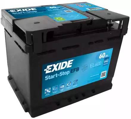 Exide Start-Stop EFB EL600