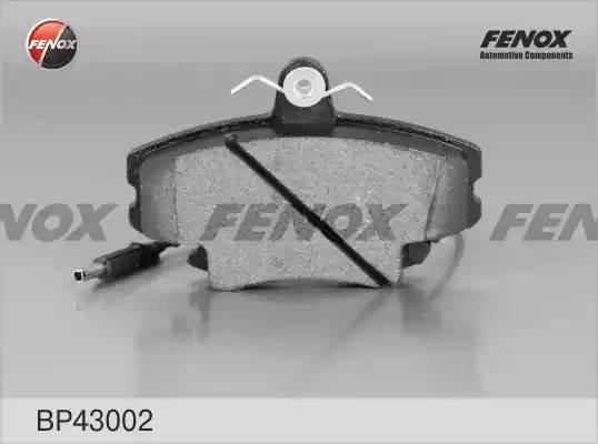 BP43002 колодки дисковые передние без датчика износа Renault Clio/Megane 1.2i