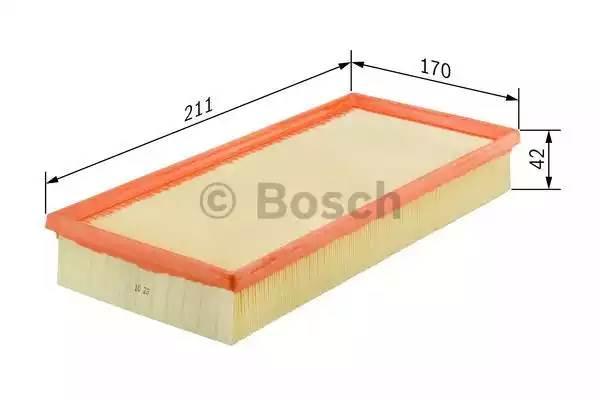 Фильтр воздушный, BOSCH, 1457433526