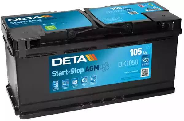 DETA 105Ah 950A R+
