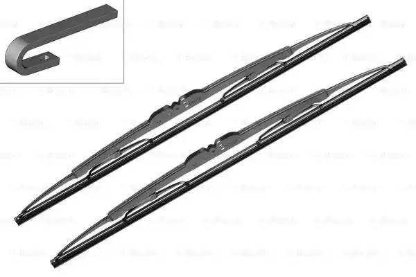 Стеклоочиститель BOSCH 340/340mm (комплект)