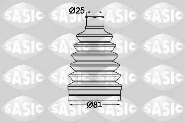SAS1904012 комплект пыльника ШРУСа наружного термопласт Renault Logan all 04 1904012