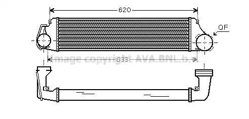 Интеркулер, AVA, BW4282