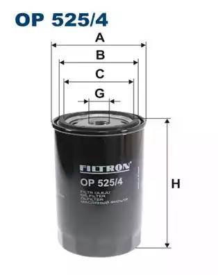 Фильтр масляный, FILTRON, OP5254