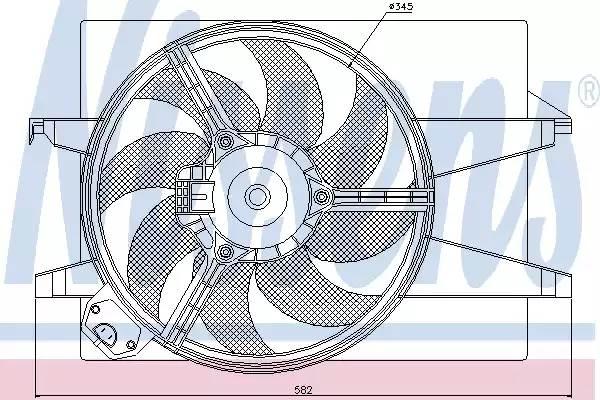 диффузор радиатора 1,6=1,4