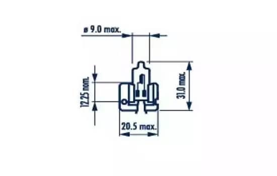 Narva H2 Standart X511 1шт.