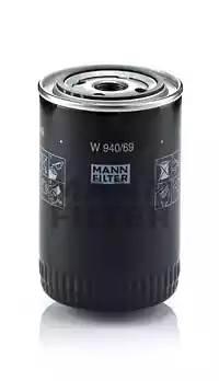 Фильтр масляный, MANN, W94069