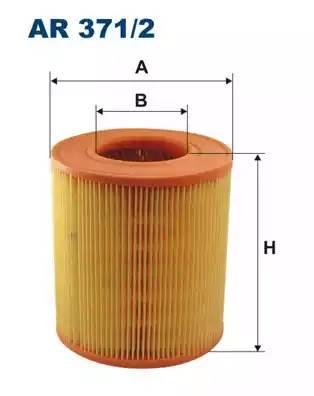 Фильтр воздушный, FILTRON, AR3712