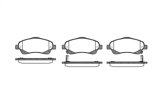 колодки тормозные передние
