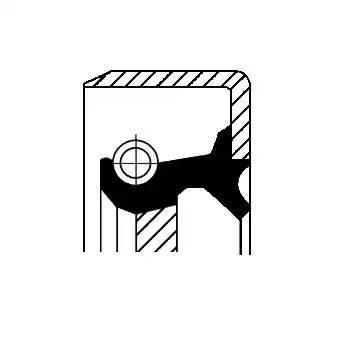 сальник гидротрансформатора