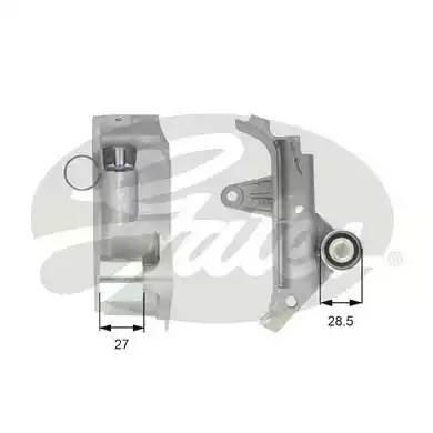 Успокоитель ремня AUDI A3 (8L1) [2001 - ] GATES T43025
