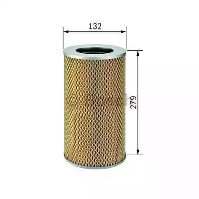 Фильтр воздушный, BOSCH, 1457433795