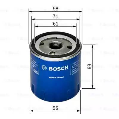Фильтр масляный, BOSCH, F026407106