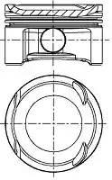 87-437400-00 поршень d72.5 STD Opel Zafira 1.4i A14NET 10 8743740000