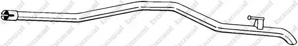 Труба конечная Мерседес Спринтер W906 VW CRAFTER