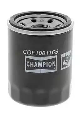 Фильтр масляный, CHAMPION, COF100116S