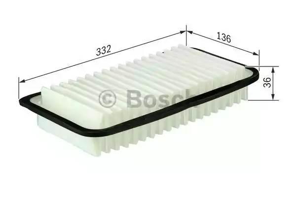 Фильтр воздушный, BOSCH, F026400154