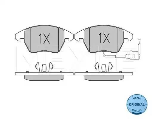 """025 235 8720/W колодки дисковые передние диск 15""""/16"""" Audi A3, VW Golf V 1.4-2 0252358720w"""
