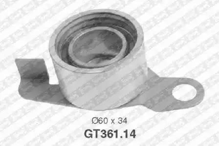 Ролик натяжной ремня ГРМ, SNR, GT36114