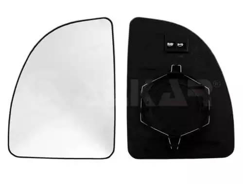 зеркало правое большое элемент (с подогревом) верхнее