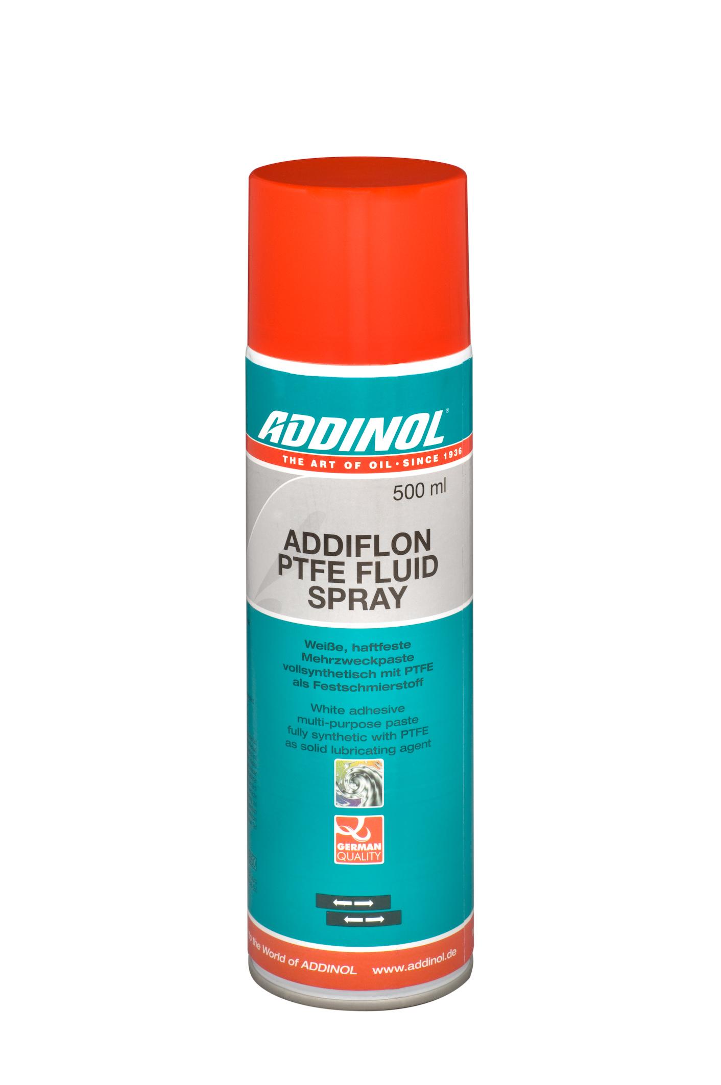 """Белая многоцелевая паста """"ADDIFLON PTFE Fluid Spray"""", 500мл"""