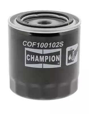 Фильтр масляный, CHAMPION, COF100102S