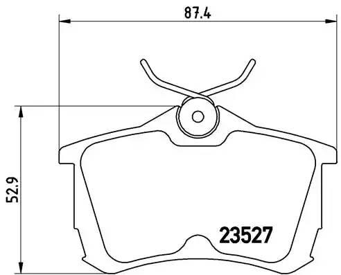 P28030 695 02 222631 D5109-01 колодки дисковые з. Honda Accord 1.6i-2.3i/2.0T