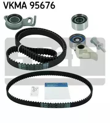 Ремень ГРМ 154 зуб. 25 мм.+ ремень балансира к-кт с роликами (3 шт) Mitsubishi L200 2.5 DI-D (см. VIN)