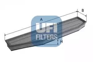 Фильтр воздушный, UFI, 3039500